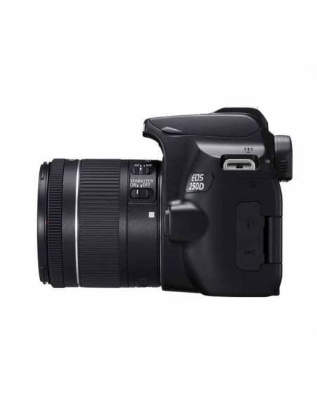 CANON EOS 250D + 18-55mm IS KIT: Funda Canon  + Sd-HC 16Gb + gamuza (3454C010AA)