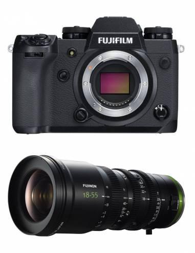 Fujifilm X-H1+ FUJINON MK18-55mm T2.9 CINE
