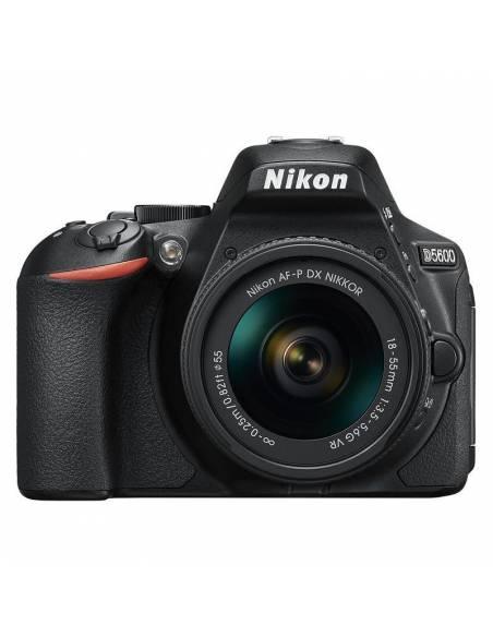 NIKON D5600 + 18-55mm VR AFP (kit: Funda + ebook) +5 AÑOS DE GARANTÍA