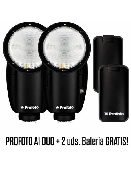 PROFOTO  A1 DUO + 2 uds. Baterías gratis! (Nikon TTL 901212)