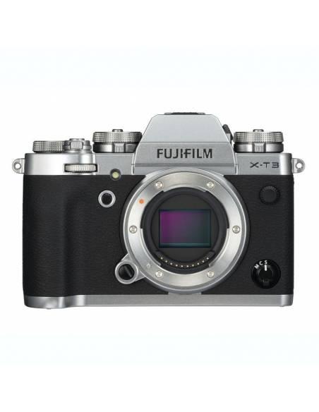 FUJIFILM X-T3 KIT silver: 18-55mm F2.8-4 + 55-200mm f3.8-4.5