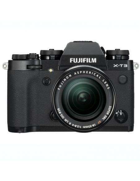 FUJIFILM X-T3 KIT Black: 18-55mm F2.8-4 + 55-200mm F3.5-4.8