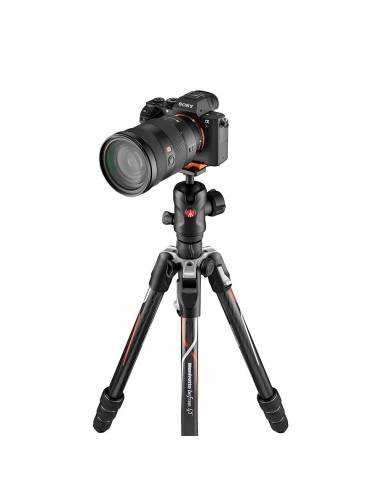 Manfrotto - Befree GT Carbono Alpha - Twist Lock - Especial Sony