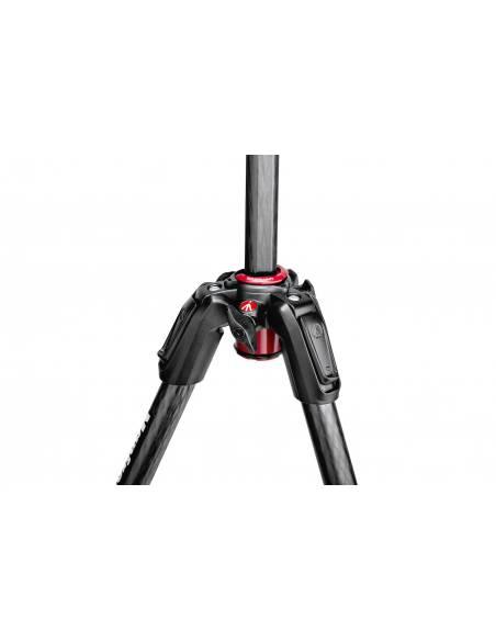 Manfrotto - Kit trípode 190Go! M 4 secc. con rótula de bola XPRO - Carbono