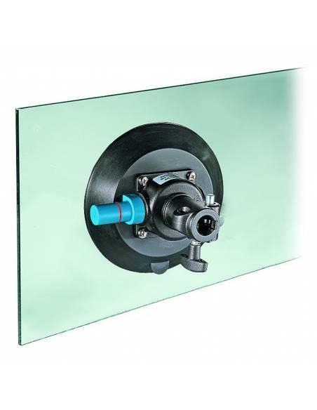 Manfrotto - Ventosa con base plana con conector de 16mm