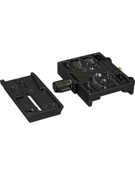 Manfrotto - Adaptador para zapata rápida corredera. Incluye zapata 501PL