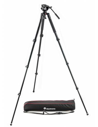 Manfrotto - Kit video MVK500AQ (trípode al. MVT535AQ + rótula MVH500AH)