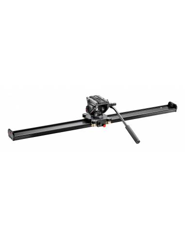 Manfrotto - Slider 100cm con rótula MVH500AH