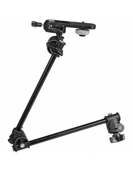 Manfrotto - Brazo articulado de 2 secciones con espigote y conector de cámara