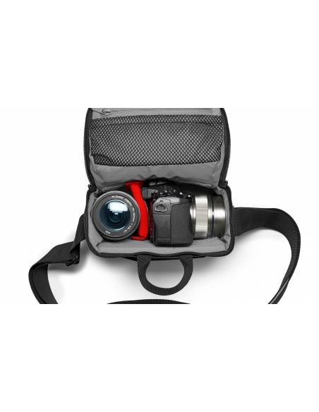Manfrotto - Bolsa de hombro (Shouder Bag) CSC NX - Nueva versión - Azul