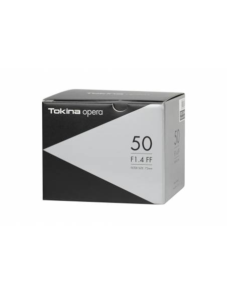 TOKINA 50mm OPERA F1.4 AF FF PRO para NIKON
