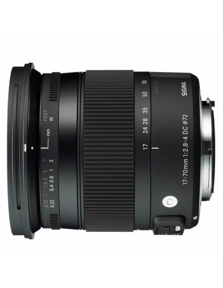SIGMA 17-70mm F2.8-4 DC MACRO OS HSM Contemporary para NIKON