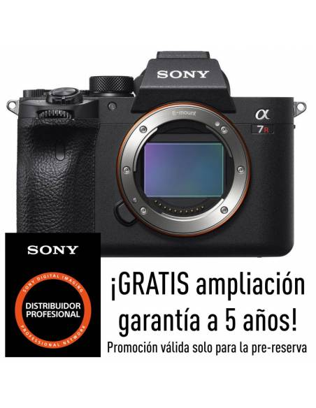 SONY A7 R IV (ILCE-7RM4) --RESERVA PRODUCTO--