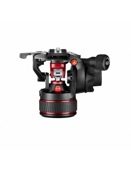 Kit trípode vídeo Manfrotto Twin Carbono + rótula Nitrotech 608 (MVK608TWINGC)