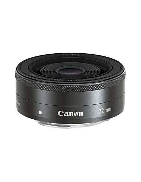 CANON EOS M6 BODY BLACK + 22mm f/2 KIT
