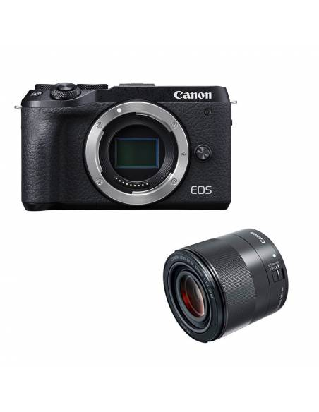 CANON EOS M6 BODY BLACK + 32mm f/1.4 KIT