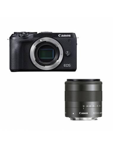 CANON EOS M6 + EFM18-55mm BLACK