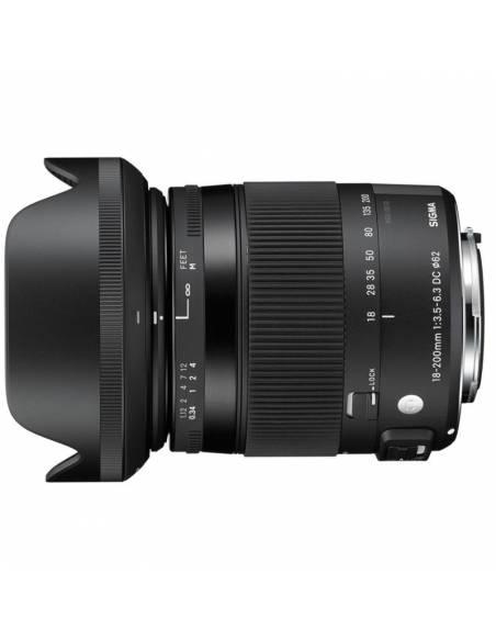 SIGMA 18-200mm F3.5-6.3 DC MACRO OS HSM Contemporary para CANON