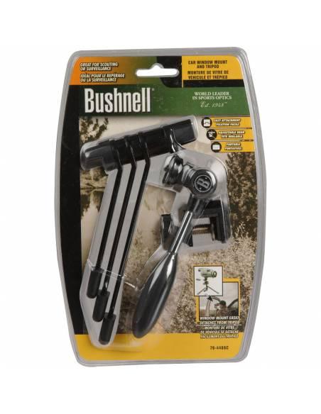 Bushnell - Mini trípode con montura para ventanilla de coche