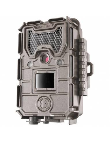 Bushnell - Cámara Exterior Trophy Cam Hd Aggressor Low Glow Marrón