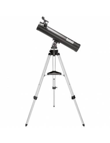 Bushnell - Telescopio astronómico VOYAGER SKYTOUR 76mm REFLECTOR