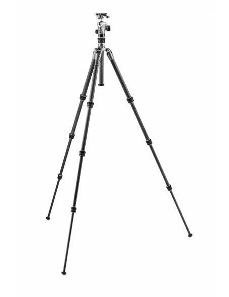 Gitzo - Kit trípode Traveler con rótula de bola GH1382TQD Zapata tipo D 4 secciones