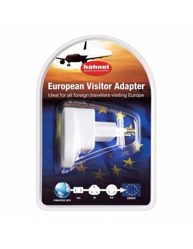 Hähnel - Adaptador visitante europeo