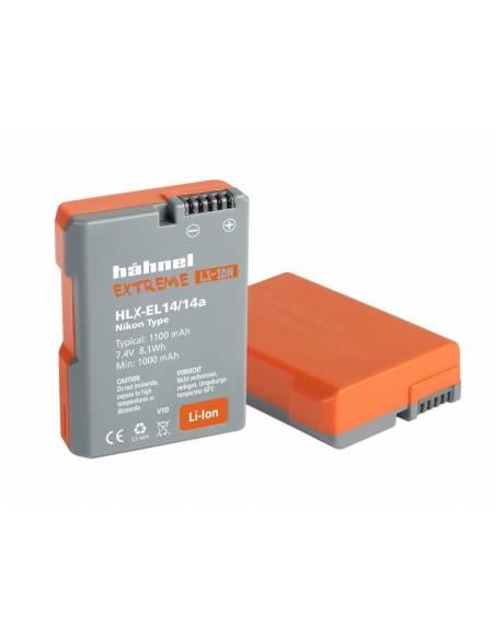 Hähnel - Batería HLX-EL14HP - Nikon EN-EL14 (equivalente)