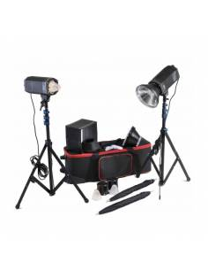 CROMALITE KIT FOCOS STUDIO LED COOLED HPL 1600/200