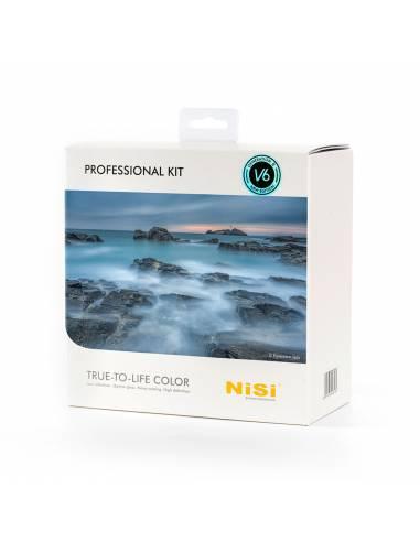 NiSi Kit Professional III 100mm: soporte V6 , adaptadores, estuche, kit limpieza, polarizador, 3 x grad. 4 x IR-ND, 1xNN