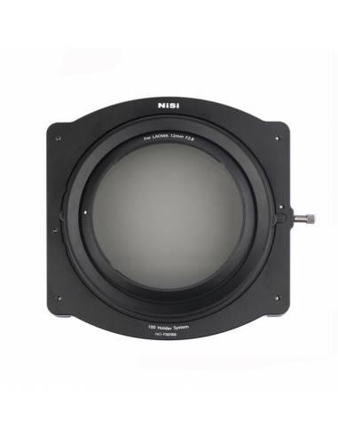 NiSi Soporte p/filtros de 100mm para LAOWA 12mm F2.8 con polarizador circular de 86mm