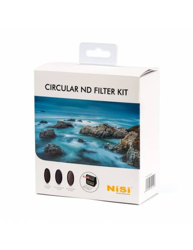 NiSi Kit filtros circulares ND 72mm (IR ND 8, IR ND 64 + Polarizador, IR ND 1000, estuche)