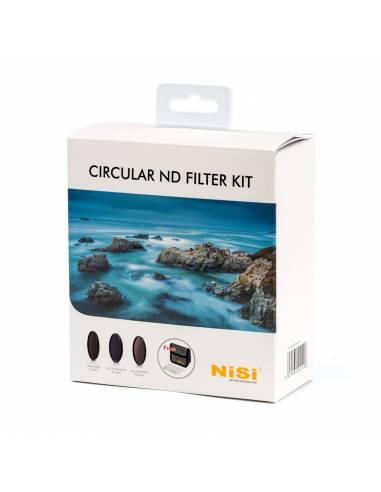 NiSi Kit filtros circulares ND 77mm (IR ND 8, IR ND 64 + Polarizador, IR ND 1000, estuche)