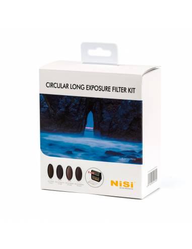 NiSi Kit filtros circulares larga exposición 67mm (IR ND 8, IR ND 64 + Polarizador, IR ND 1000, IR ND 32000, estuche)