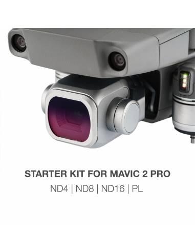 NiSi Starter kit : ND4 / ND8 / ND16 / Polarizador para DJI Mavic 2 Pro
