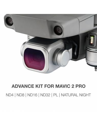 NiSi Advance kit : ND4 / ND8 / ND16 / ND32 / Natural Night / Polarizador para DJI Mavic 2 Pro