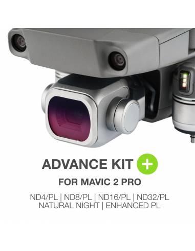 NiSi Advance kit + : ND4-PL / ND8-PL / ND16-PL / ND32-PL / Natural Night / Polar. mejorado para DJI Mavic 2 Pro