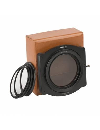 NiSi Kit soporte C4 para filtros 4x4, 4x5.65 (soporte, PL 86mm, anillos adaptadores 67-82, 72-82, 77-82, estuche)