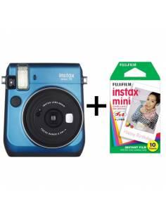 FUJIFILM INSTAX MINI 70 Blue + Película Instax