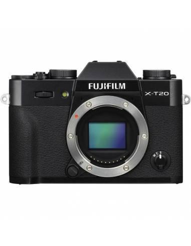 FUJIFILM X-T20 CUERPO BLACK