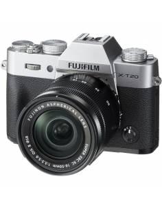 FUJIFILM X-T20 + 16-50 CUERPO SILVER