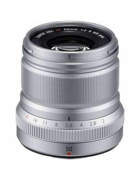 FUJINON XF50mm F2 R WR Silver