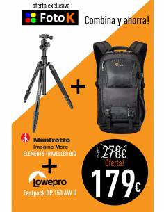 Combina y ahorra: Element BIG + Fastpack BP150AW II