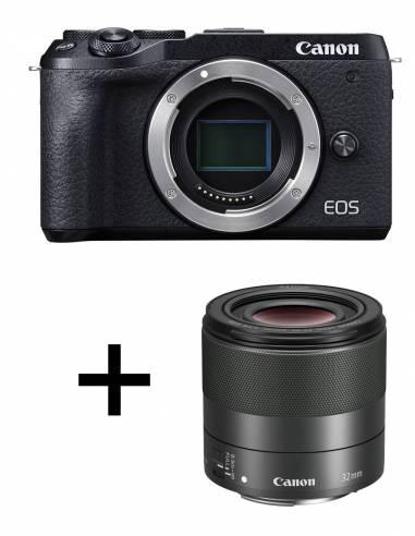 CANON EOS M6 MARK II + 32mm F1.4 Black