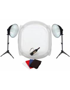 KIT MINI ESTUDIO FOTIMA 60X60 35W