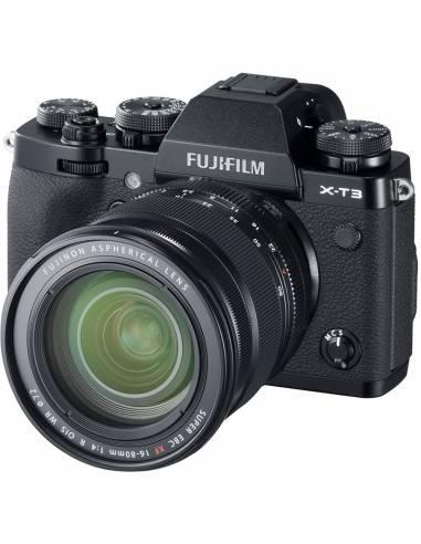 FUJIFILM X-T3 + XF 16-80mm F4 R OIS WR Black