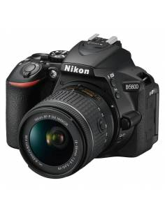NIKON D5600 + 18-55mm VR AFP (kit: Funda + ebook)