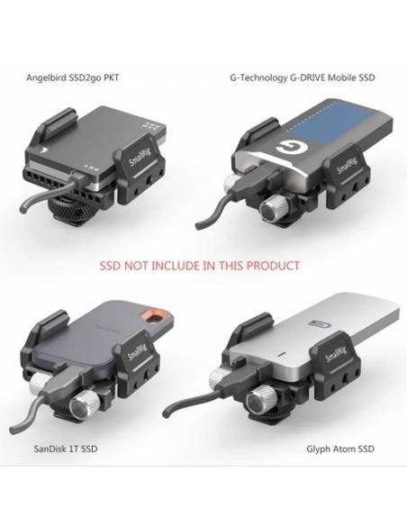 SmallRig Soporte Universal para SSD externo BSH2343
