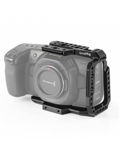 SmallRig Cage half para Blackmagic Design Pocket Cinema Camera 4K y 6K CVB2254