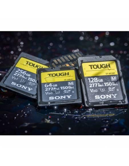 SONY TOUGH 64 GB 277MB/S UHS-II V60 IP68 (SF-M64T)